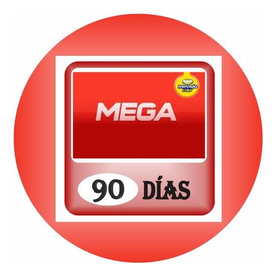 Cuentas Premium Mega X 3 Meses (90 Dias) Garantizada