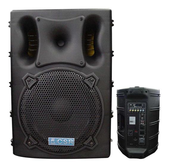 Caixa Ativa Amplificada Csr3000 A Usb / Sd Maxcomp Musical