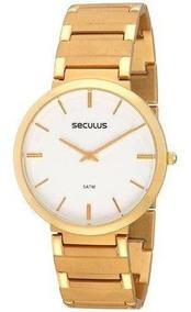 Relógio Feminino Seculus 24214gpseda1 Slin