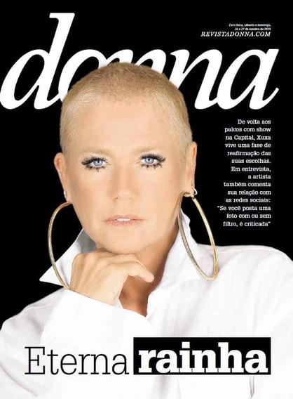 Revista Donna Com Xuxa Na Capa + Brinde