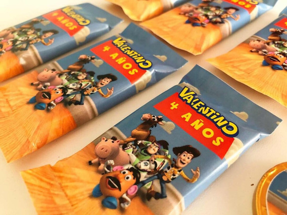 Golosinas Personalizadas Candy Bar Toy Story 4 Mesa Dulce