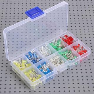 Caja Con Diodos Led Son Aprox 300 En Total Distintos Volts