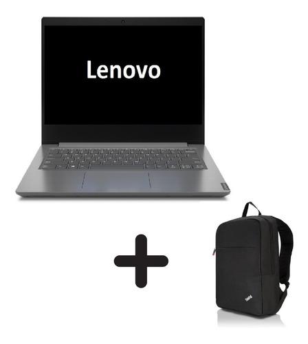Imagen 1 de 5 de Portatil Lenovo V14 Core I3 1005g1 4gb 256ssd Freedos+morral