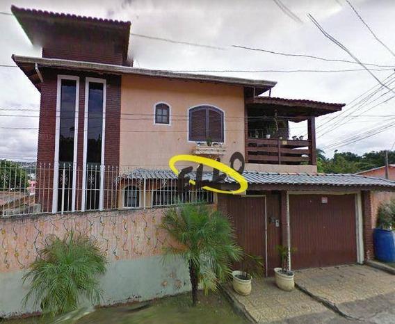 Casa Com 3 Dormitórios Para Alugar, 250 M² Por R$ 1.800,00/mês - Centro (caucaia Do Alto) - Cotia/sp - Ca4468