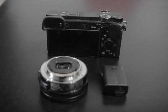 Camara Mirroless Sony A6300 Lente Sony 16-50 Mm Y Bateria