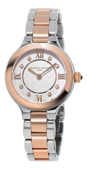 Reloj Frederique Constant Fc-200whd1er32b Para Dama Ext De Acero