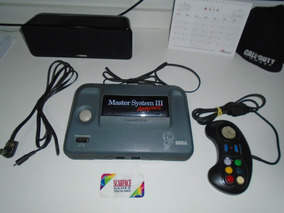 Console Sega Master System 3 Tectoy Com Jogo E Controle
