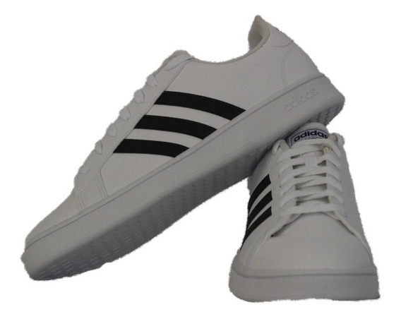 Tênis adidas 100% Original Branco/preto Masculino Com N F