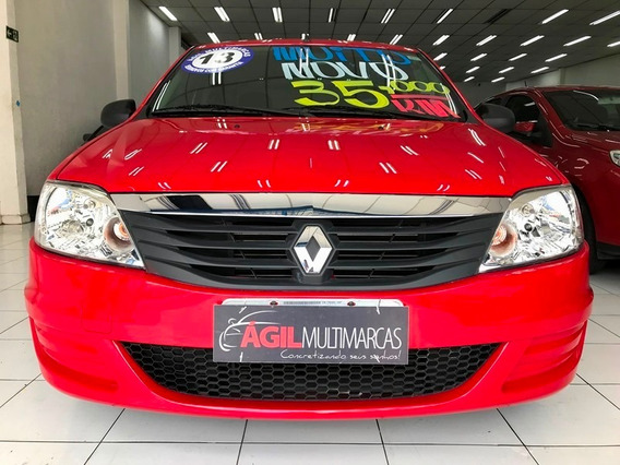 Renault Logan Authentique 1.0 Flex 2013 Único Dono