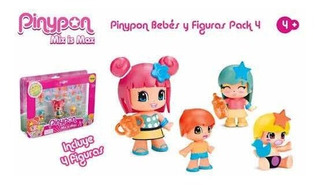 Piny Pon Babies And Figures Pack Famosa