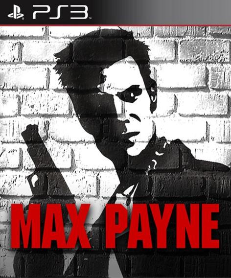 Max Payne - Ps3 Psn Pronta Entrega
