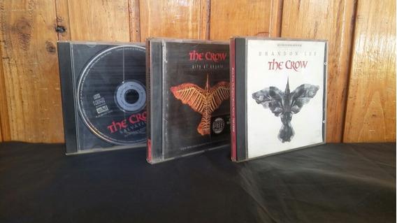 Lote X3 Cds Soundtrack The Crow El Cuervo Los Germanes