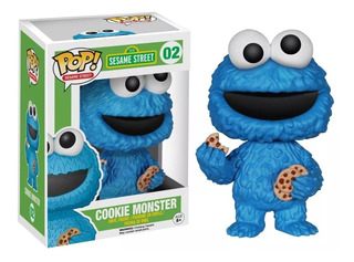 Funko Pop! Cookie Monster #02 Sesame Street Vaulted Stock