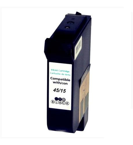 Cartucho Alternativo Nuevo C6615 Negro Compatible Con 51645