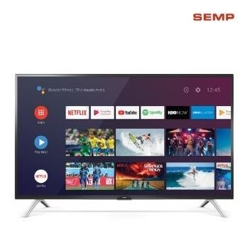 Tv 32p Semp Led Smart Wifi Hd Usb Hdmi Comando De Voz Mh -