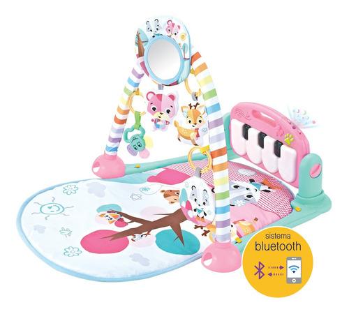 Tapete Musical Infantil De Atividades Com Piano E Bluetooth