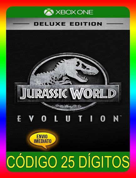 Jurassic World Deluxe Xbox One - 25 Dígitos (envio Já)