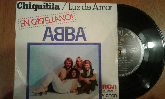 Disco Vinilo Simple Abba