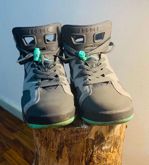 Air Jordan 6 Retro Green Glow