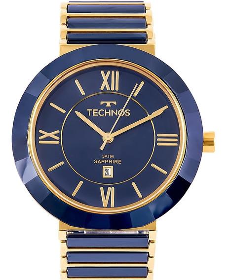 Relógio Technos Ceramic Hi-tech Sapphire 2015bv/5a