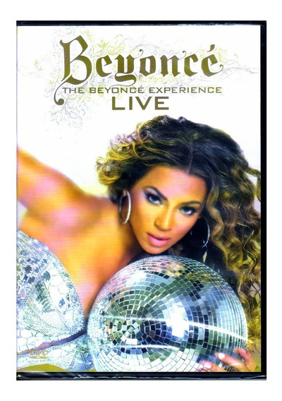 Beyoncé Dvd The Beyonce Experience Liv Original Novo Lacrado
