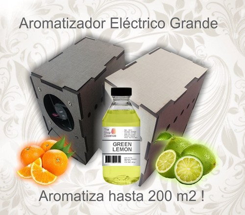 Aromatizador El Poderoso 4t Usb +1/2 Lit Esencia Ultra Pura!