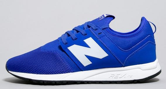 tenis new azul
