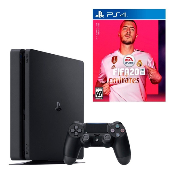 Sony PlayStation 4 Slim 1TB FIFA 20 Bundle jet black