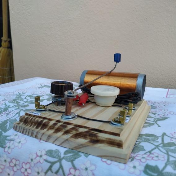 Rádio Galena Cursor Capacitor Variavel Feira Ciencias