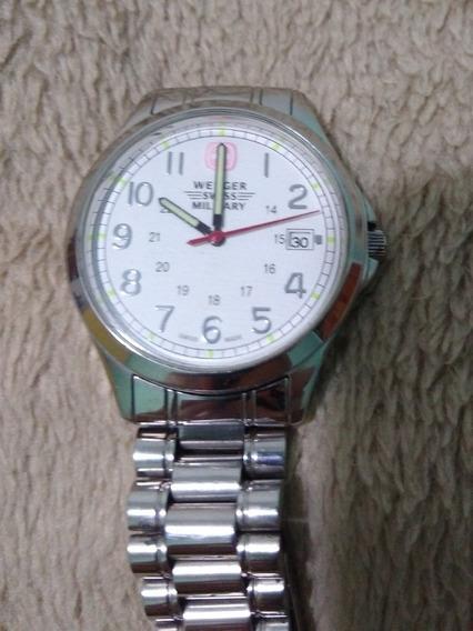 Relógio Wenger Military Swiss Original Aço President