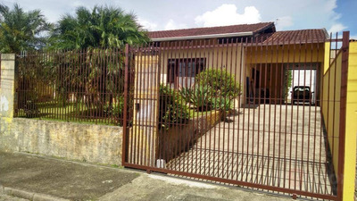 Casa Com 3 Dormitórios À Venda, 169 M² Por R$ 380.000 - Água Verde - Blumenau/sc - Ca0468