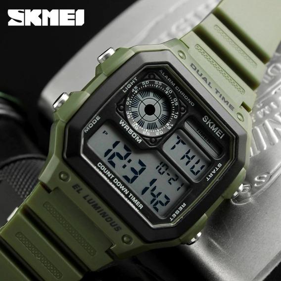 Relógio Digital Skmei 1299 À Prova D
