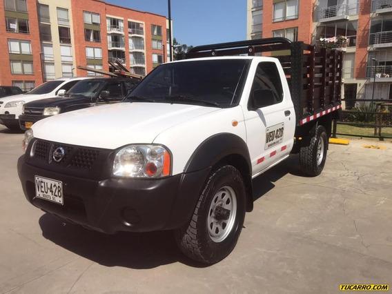 Nissan Frontier Estacas 4x4 3.0cc Mt Aa