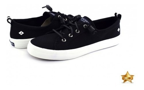 Zapatos Sperry Sts 99251 Sts Black Crest Vibe Wshd Linen 22
