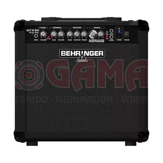 Combo Amplificador Guitarra 30w 12 Gtx30 Behringer 15000464