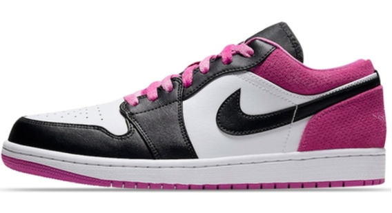 Air Jordan 1 Low Se Fuschia Caballero Original.