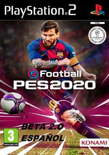 Pes 2020 Para Playstation 2 En Físico Version Beta 2.0