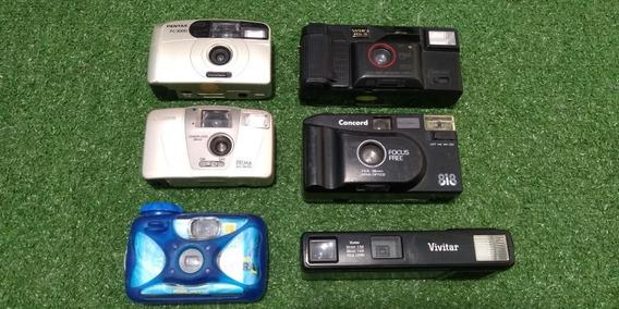 Câmeras De Filme - Kit Com 6 Câmeras