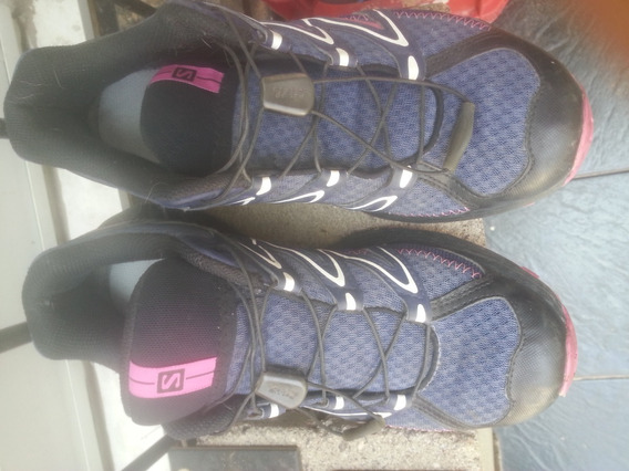 zapatillas salomon ortholite usadas