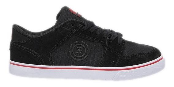 Zapatillas Element Y Heatley Niño Black Red Bfct1eyh