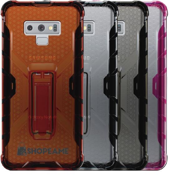Funda Samsung Note 9 J6 J8 A6 S9 Plus Uso Rudo Transparente