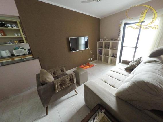 Apartamento De 2 Quartos Com Vista Do Mar, 2 Vagas E Com 3 Sacadas!!! - Ap3038