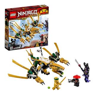 Lego Ninjago Dragón Dorado 70666