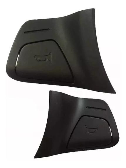 Par Botão Buzina Chevrolet Agile Montana Direito Esquerdo- N