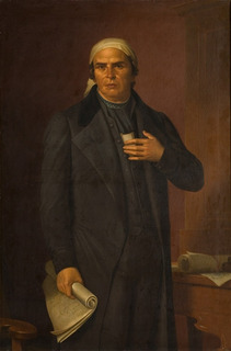 Lienzo Tela Retrato José María Morelos 70x106cm