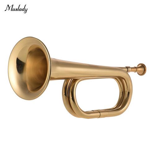 Muslady B - Trompeta De Latón Con Cuerno De Caballería