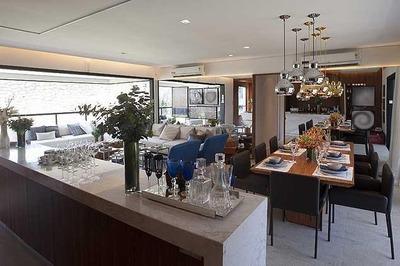 Apartamento Em Brooklin, São Paulo/sp De 145m² 3 Quartos À Venda Por R$ 1.460.000,00 - Ap85307
