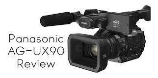 Filmadora Panasonic Ag-ux90 Profissional 4k Lacrada Garantia