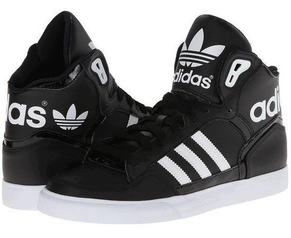 Tenis adidas Top Ten Extaball Bota Negros Unisex, Zapatillas