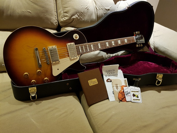 Gibson Les Paul Custom Shop Reissue 1958 Vos - (r8)